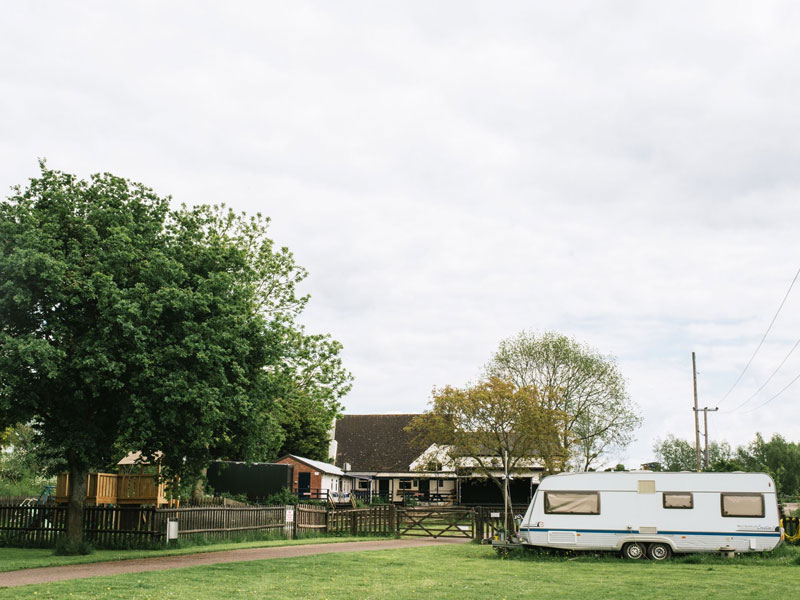 Hawbridge Inn camping site